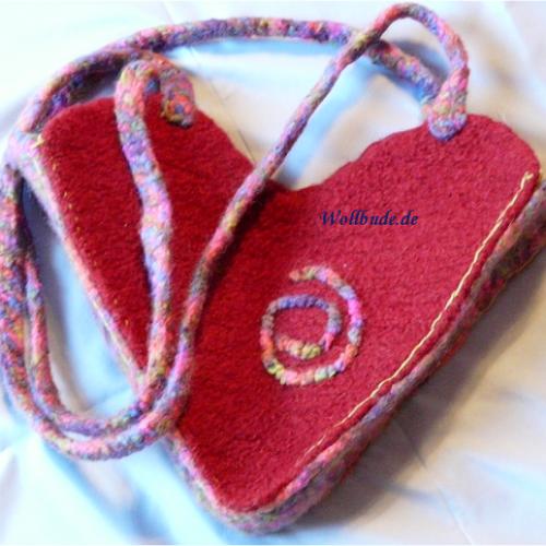 Tasche mit Herz Wollbude.de